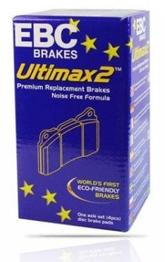 EBC DP1816 Ultimax Brake Pads (REAR) for Toyota Landcrusier LC200