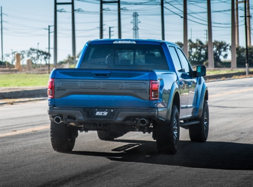 Borla 60637 Stype X-Pipe wMid Pipes Ford F-150 Raptor 2017-2020