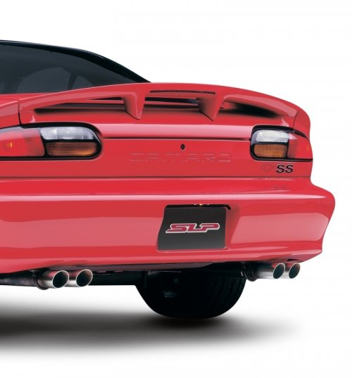 SLP 1998-2002 Chevrolet Camaro LS1 LoudMouth II Cat-Back Exhaust System w/ Dual Tips