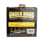 DEI Under Hood Thermal Acoustic Lining 32in x 54in – 12 sq Ft – (DEI Retail package)